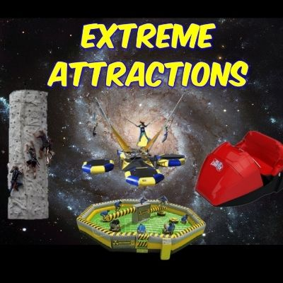 Mansfield Extreme Attractions Rentals of Rock Walls