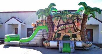 Fort Worth bounce House with slide rentals near me