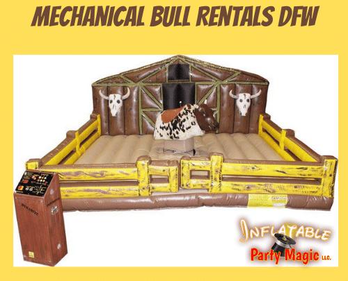 Mechanical Bull Rentals Midlothian TX