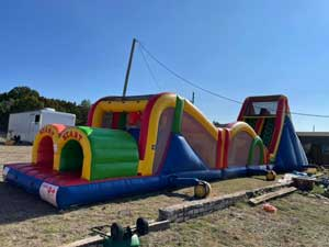 Inflatable Obstacle Course Rentals Fort Worth Tx near me