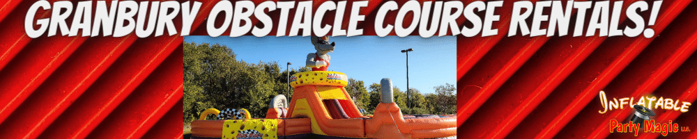 Granbury Obstacle Course Rentals near me