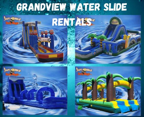 Grandview Water Slide Rentals