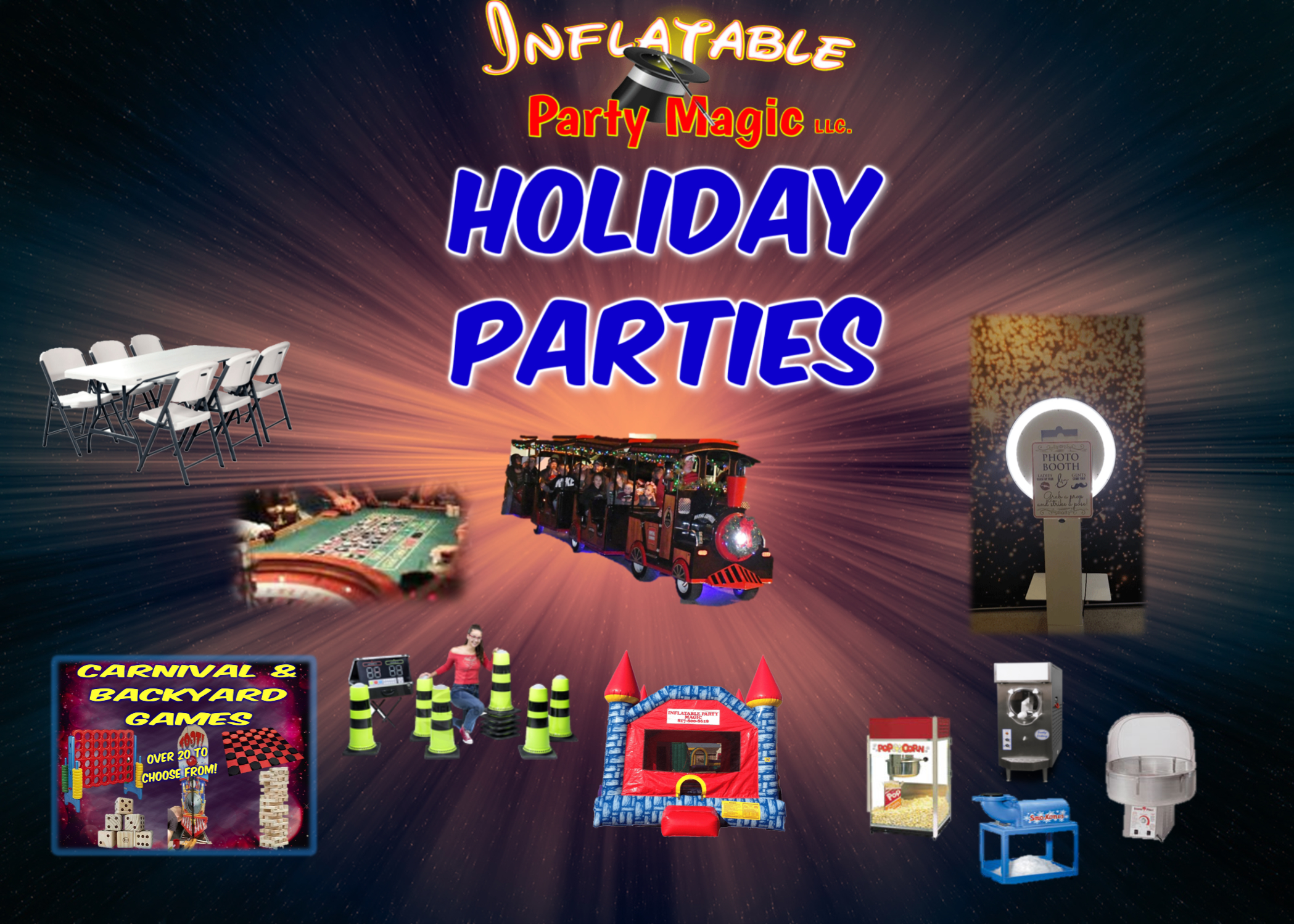 Holiday Party Rentals Inflatable Party Magic
