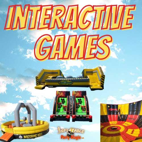 Granbury Interactive Inflatable Games