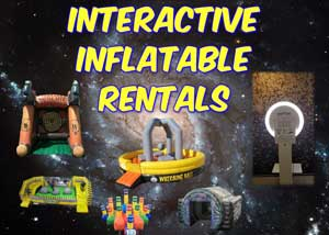 Weatherford Interactive Inflatable and Obstacle Course Rentals