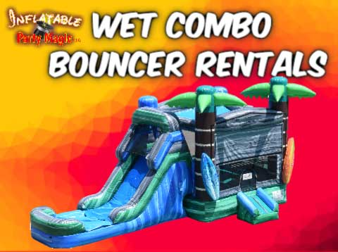 Mansfield Wet Bounce House Party Rentals