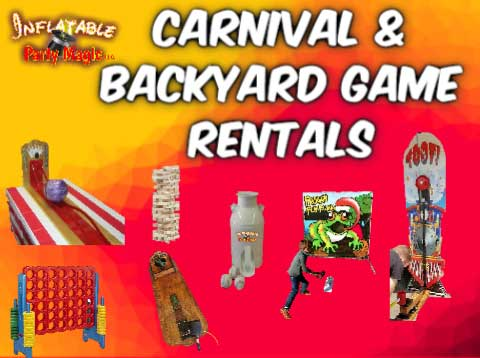 Mansfield Carnival Game Rentals and Backyard Game Rentals Mansfield