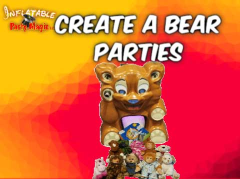 Create a Bear Party Rentals Mansfield
