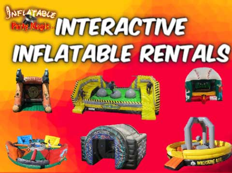 Mansfield Interactive Inflatable Games Rentals