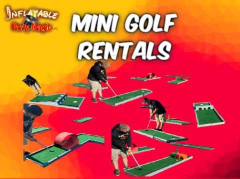 Mini Golf Party Rentals Mansfield