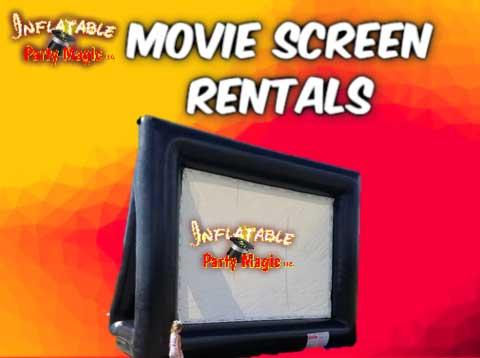 Movie Screen Party Rentals Mansfield