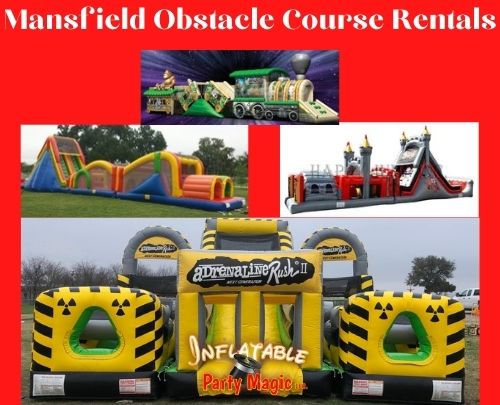 Obstacle Course Party Rentals Mansfield, Tx