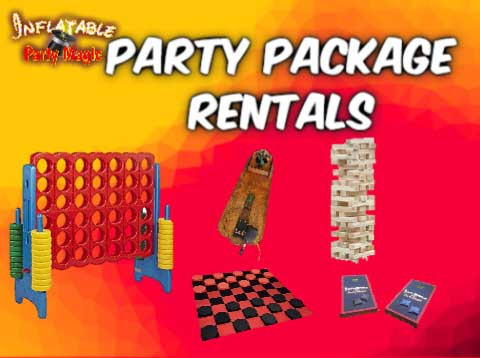 Mansfield Party Game Package Rentals