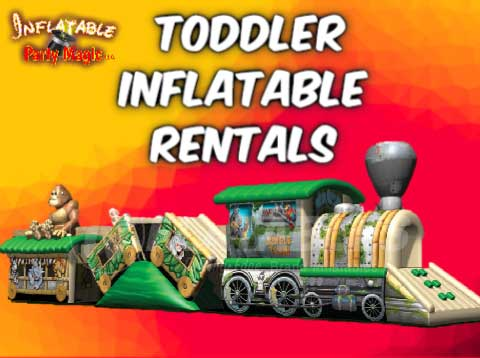 Toddler Bounce House Party Rentals Mansfield