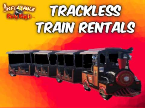 Mansfield Trackless Train Party Rental