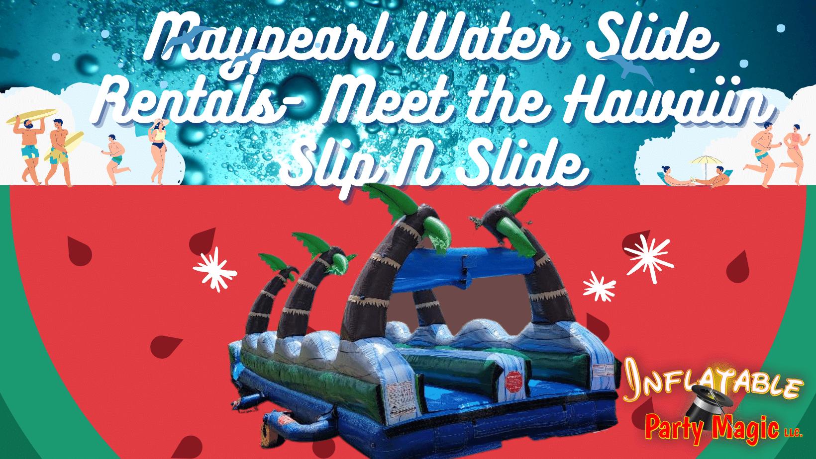 Maypearl Slip N Slide Water Slide Rental