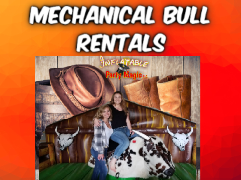 Arlington Mechanical Bull Rentals