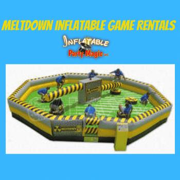 Midlothian Meltdown Inflatable Game Rentals near me