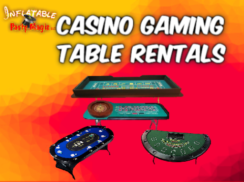 Casino Table Rentals Midlothian and Maypearl