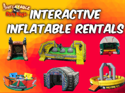 Midlothian Interactive Inflatable Games Party  Rentals