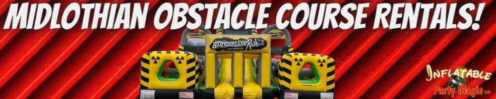 Midlothian Obstacle Course Rentals near me