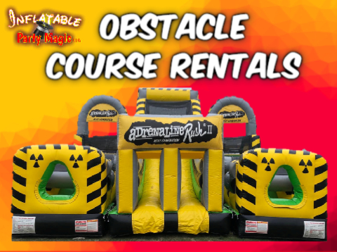 Obstacle Course Party Rentals Midlothian, Tx