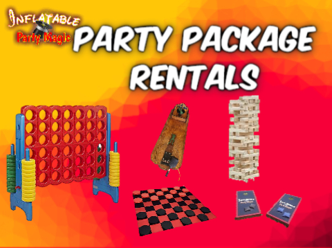 Midlothian Party Game Package Rentals