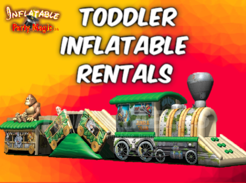 Toddler Bounce House Party Rentals Midlothian