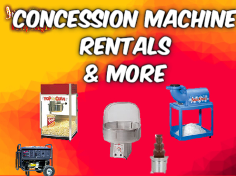 Concession Machine Rentals Midlothian
