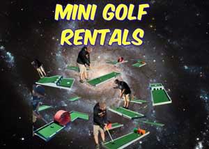 Burleson Mini Golf Rentals near me