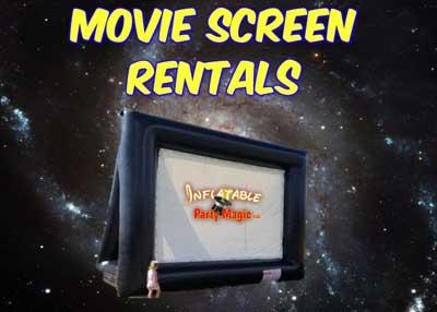 Movie Screen Rentals Burleson DFW Texas