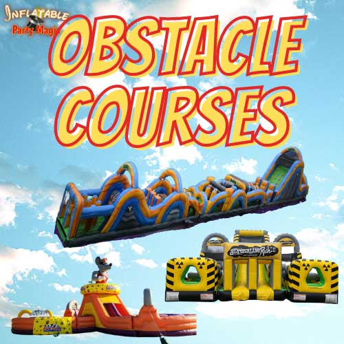 Texas Obstacle Course Rentals near me