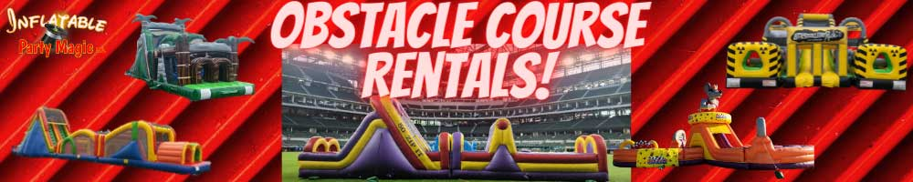 Obstacle Course Rentals Near me