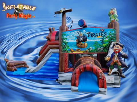 Pirate Water Bounce House Rental Grandview