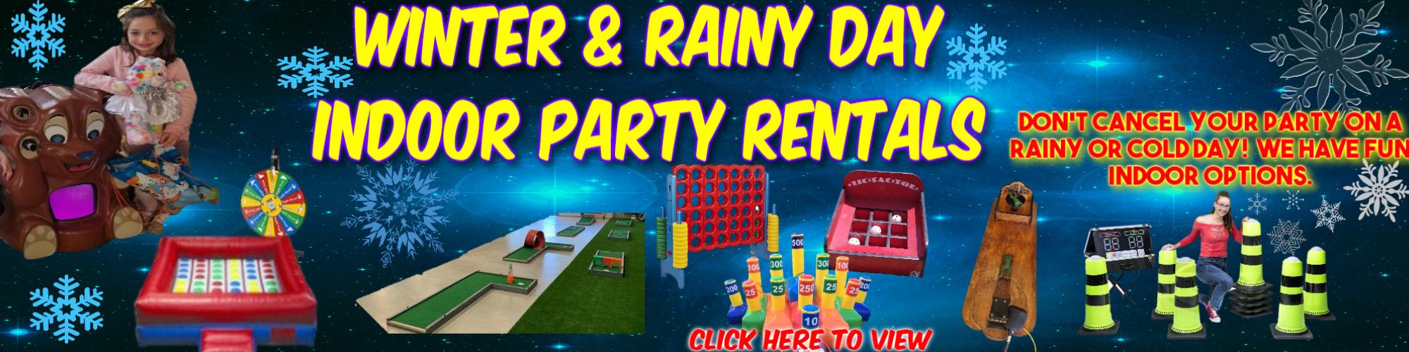 Rainy Day Party RentalsTexas