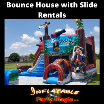Rio Vista Bounce House with Slide Rental