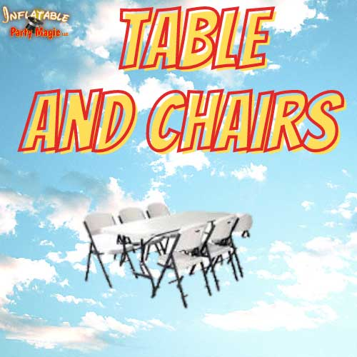 Granbury Table and Chair Rentals
