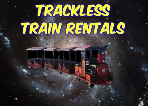 Alvarado Trackless Train Rentals near me