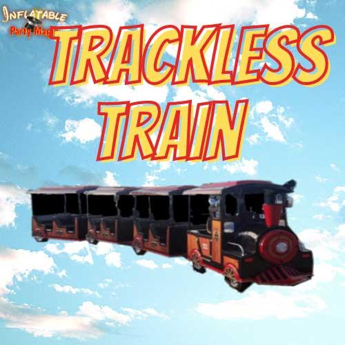 Texas Trackless Train Rentals near me