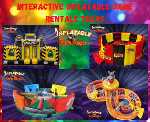Interactive Inflatable Games to rent in Maypearl