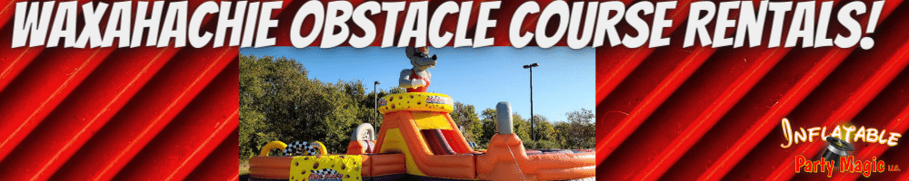 Waxahachie Obstacle Course Rentals near me