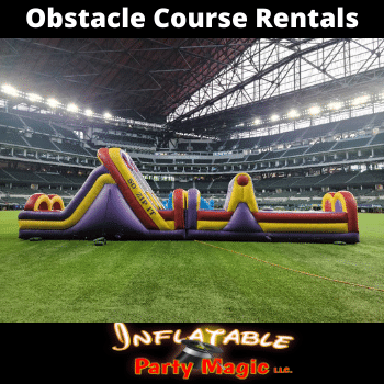 Waxahachie Inflatable Obstacle Course Rentals near me