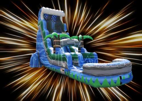 Arlington Water Slide Rental 18ft. Tall Tsunami Water Slide for teens