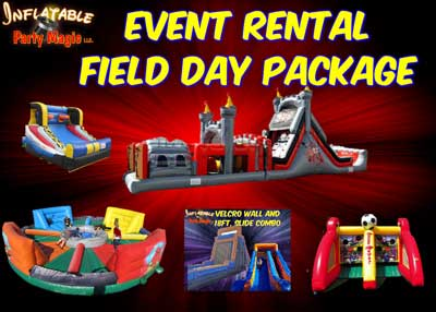School Field Day Rentals Fort Worth, Tx