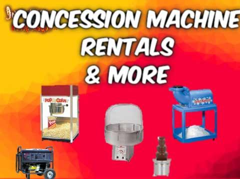 Concession Machine Rentals Mansfield