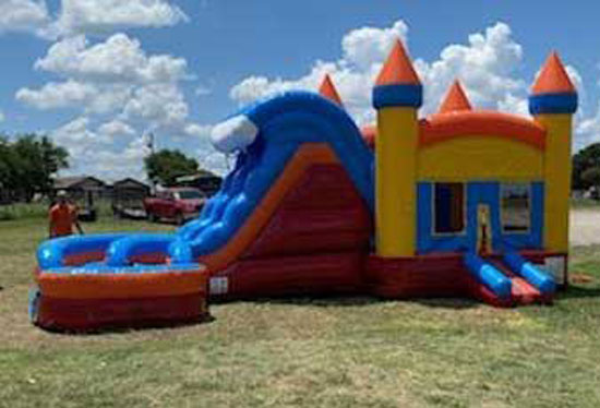 Bounce House With Slide Rental Midlothian