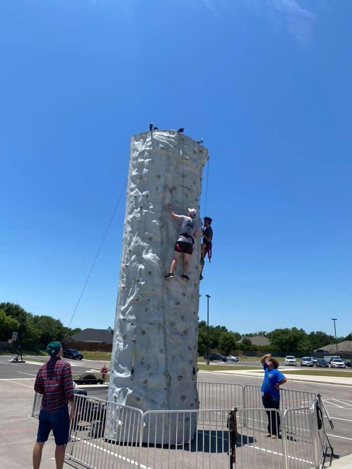 Arlington Rock Climbing Wall Rental DFW Texas