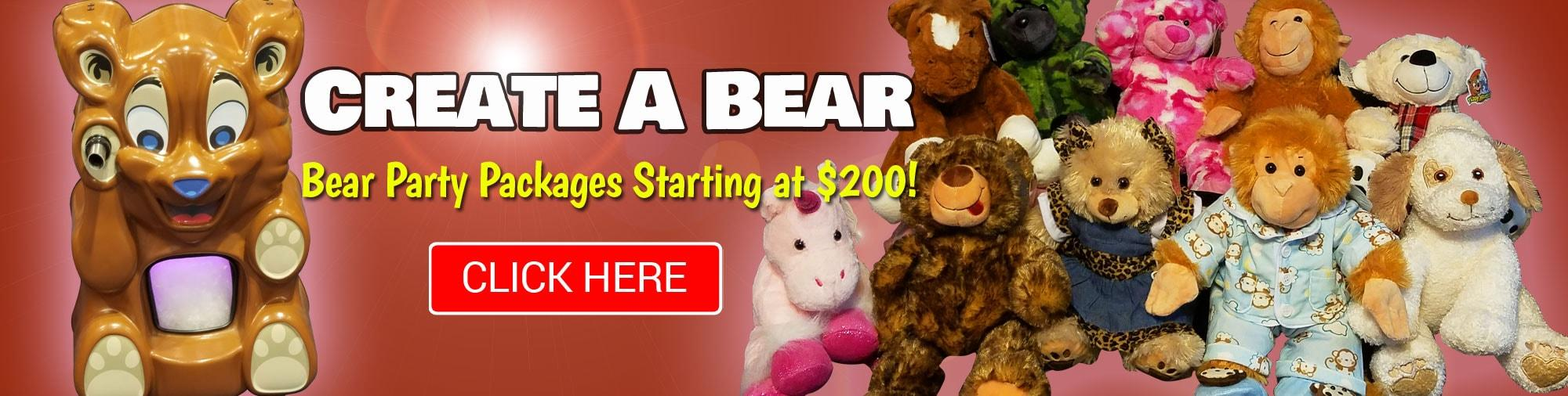 Create your own bear mobile party
