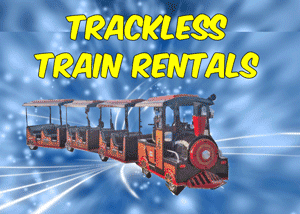Burleson Trackless Train Rentals near me