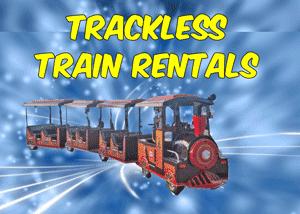 Trackless Kiddie Train Rentals Cleburne